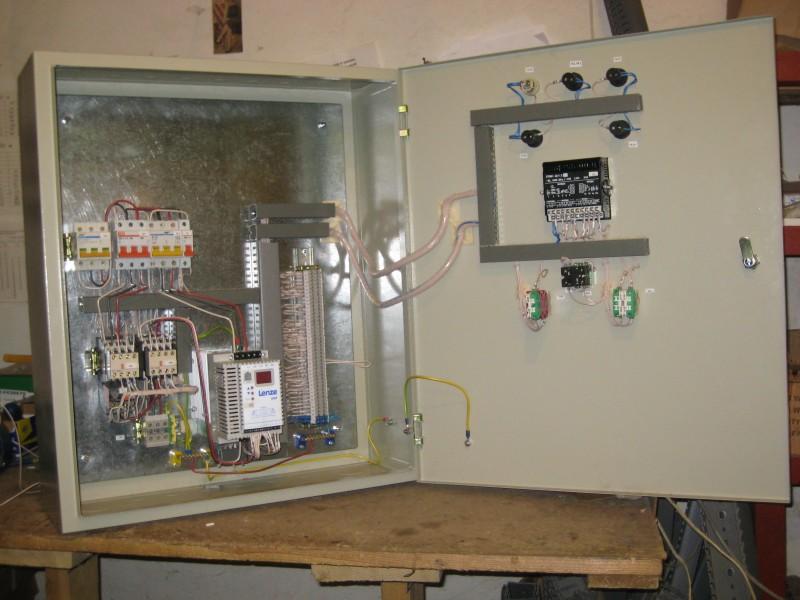 Щиты управления вентиляторами подпора