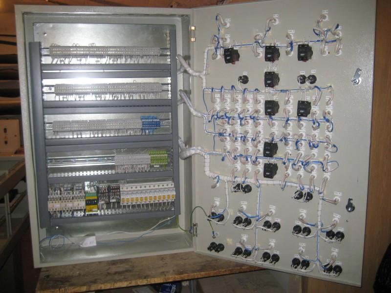 Щит управления и индикации работы систем пожаротушения